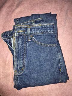 Boyfriend Jeans Dark Navy MKY