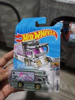 Hot Wheels -  Raijin Express