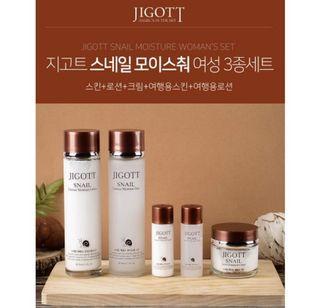 韓國JIGOTT 蝸牛保濕禮盒豪華 5入組