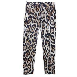 Just Cavalli leopard skinny pants