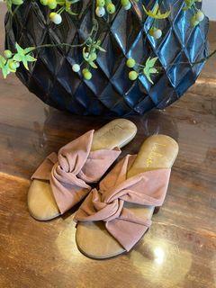 Lulu's Nude Brown Sandals