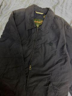 Miao|古著|Timberland深藍教練外套