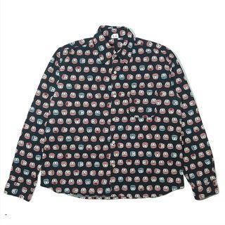 Neo clothing daruma doll pattern shirt