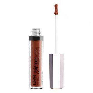 Nyx lip lacquer (shade: camel)