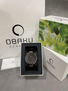 Obaku V149LVNMN1 玫瑰金手錶