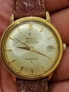 Omega constellation original solid gold 18k
