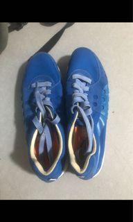 男裝藍色PUMA鞋 (uk 8)(只著過幾次.新舊如圖)