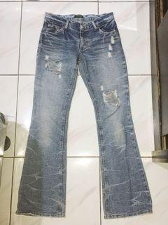 ripped jeans (cutbray)