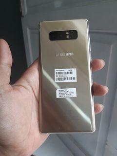 Samsung Note8 gold sein