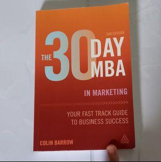 The 30day MBA in Marketing