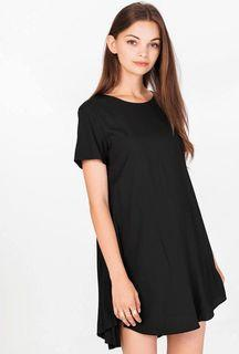 The closet lover tcl everly pleated dress black basic