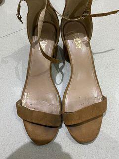 trash brown heels 5cm