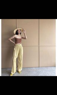 trick n tricky wide leg pants cullote
