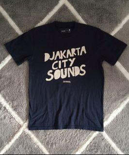 "T-shirt Kelompok Penerbang Roket ""Djakarta City Sounds"""