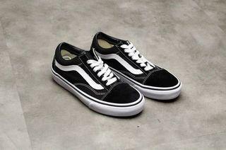 Vans 黑色經典款 era 帆布鞋 滑板鞋