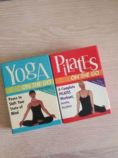 Yoga and Pilates Card Deck (like classes / book)
