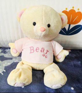 粉嫩的泰迪熊