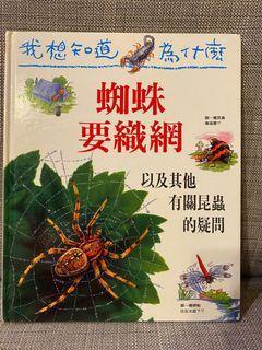 兒童百科 我想知道為什麼蜘蛛要織網