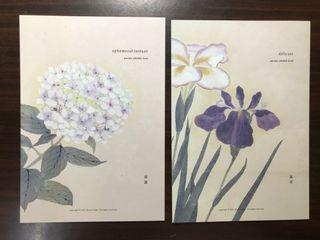 半價大出清 開花實驗室 B6手帳 風華 套卡 絕版商品 全新未使用