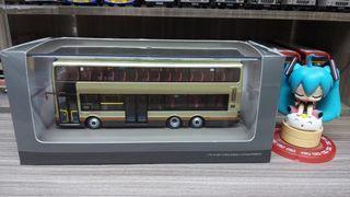 M1 巴士模型 九巴 KMB AMNE1 MAN A95 12m TP1095 猛獅 52X(旺角柏景灣) 1/76