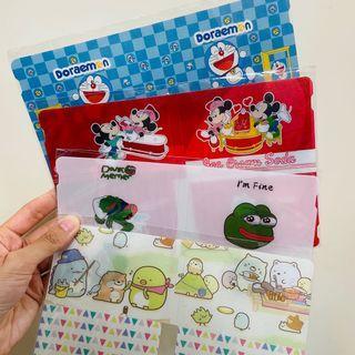 💓卡通摺疊式口罩夾 多啦a夢 Doraemon 叮噹 米奇 米妮 Mickey Mouse Minnie Mouse Pepe青蛙 角落生物 Sumikko Gurashi