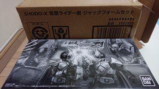 魂限 Shodo-X Kamen Rider 幪面超人 劍 & 格連 Jack form