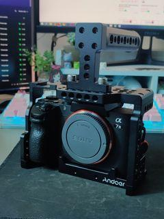 A7iii cage   Andoer camera cage with top handle