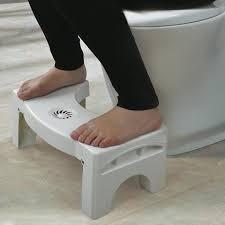 Bottomclean Toilet Foldable Stool Brand New