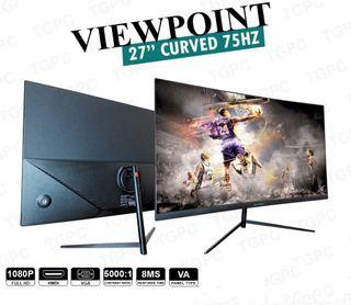 ❗️AUTHENTIC❗️27 inches 75hz Curved FHD-27S1 Gaming Monitor
