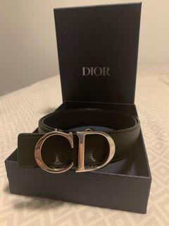 Authentic Men's Dior Leather Belt