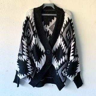 Aztec Knit Cardigan