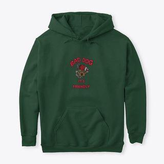 BAD DOGS.  Classic Pullover Hoodie