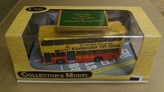 CsM KMB 九巴丹利士祖比倫Kodak Film柯達菲林廣告巴士模型 路線:10