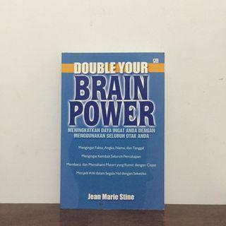 DOUBLE YOUR BRAIN POWER by Jean Marie Stine