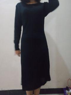 Dress hitam press body