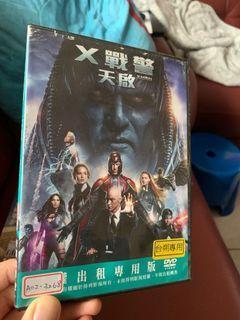 二手DVD-X戰警:天啟(租書店賣DVD片