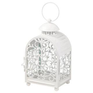 EUC Ikea GOTTGÖRA Lantern for candle in metal cup