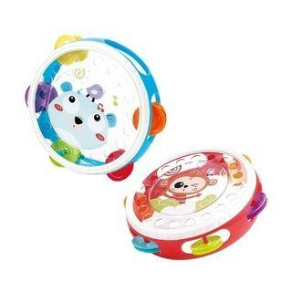 Hand Tamborine Kids Toys/Mainan Alat Musik Tamborin/Mainan edukasi anak