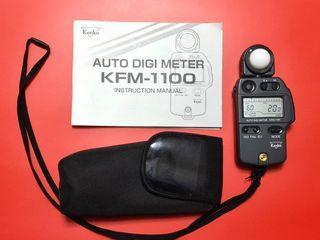Kenko Minolta Auto Digi Meter KFM-1100 Meter IV F  Incident Flash Ambient Light Film Photography Better than My Sekonic