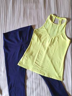 Lorna Jane and Lululemon Set (Top and leggings for $89 bundle)