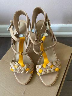 Marciano leather sandals. Size 6.