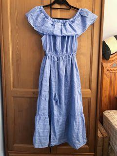 Midi Off Shoulder Dress