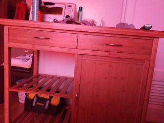 movable kitchen cabinet and mug holder