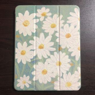 (NEGOTIABLE)Oil Painting White Daisy Cover Case iPad Pro 11 (2018/2020)