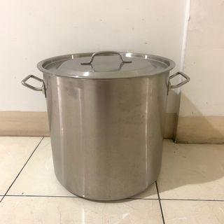 #LalamoveCarousell Panci tinggi Stainless Steel/ Stock pot zebra 32cm - 171032