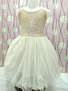 Preloved gaun anak 3-4 thm