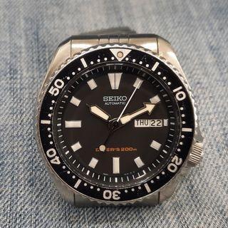 Rare Seiko SKX399 7S26-0020 200 Meters Automatic Men's Watch