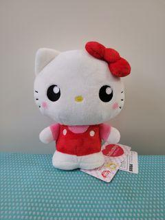 Sanrio Hello Kitty 紅色吊帶衫 企定定係列 數字系列 中size 毛公仔