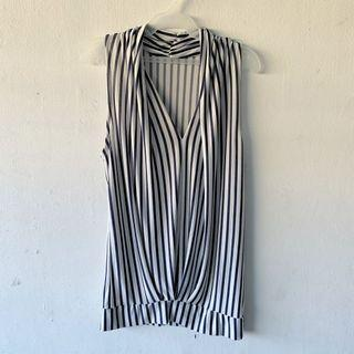 Striped Sleveeless Top