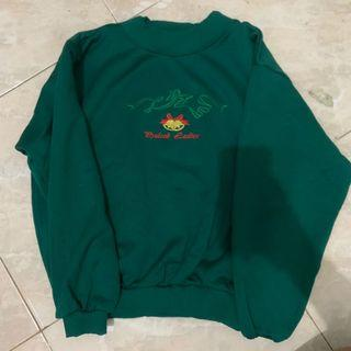 Sweater green size s